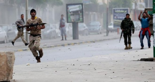 Continued Armed Clashes in Saudi-Controlled Aden, Southern Yemen