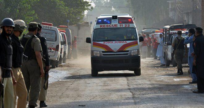 Explosion in Christian Church in Pakistan