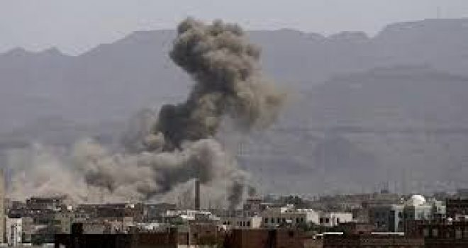 Coalition's raids kill two, injure others in Sana'a