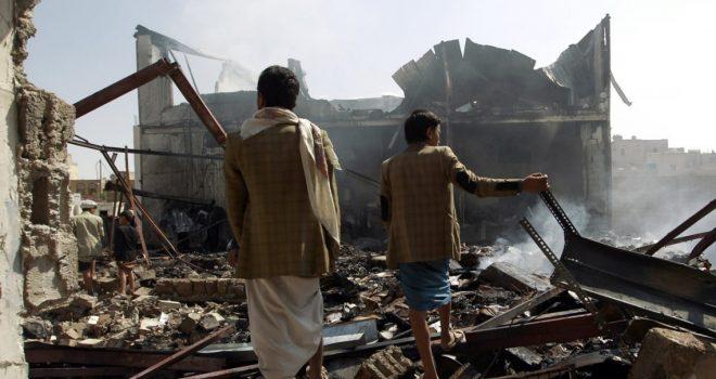 What did Saudi/UAE warplanes bomb in Yemen on March 16th?