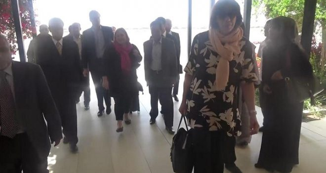 EU Delegation Arrives in Sana'a ,Yemen ,Foreign Ministry Welcomes