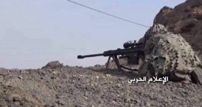 Scores of the coalition fall dead at the hands of the Yemeni snipers in battlefronts