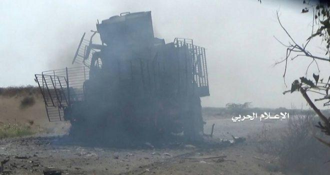 Today's Losses of the UAE Mercenaries in Hodeidah, Western Coast Front