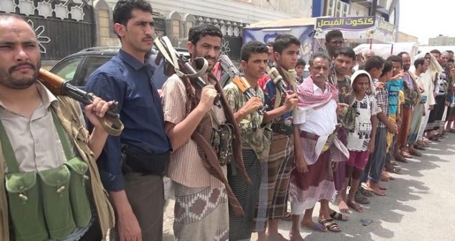 Residents of Hodeidah Declare General Recruitment Against Saudi War
