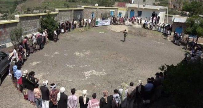 Yemen's Ibb Province Witnesses an Angry Tribal Meeting Condemning Saudi Crimes
