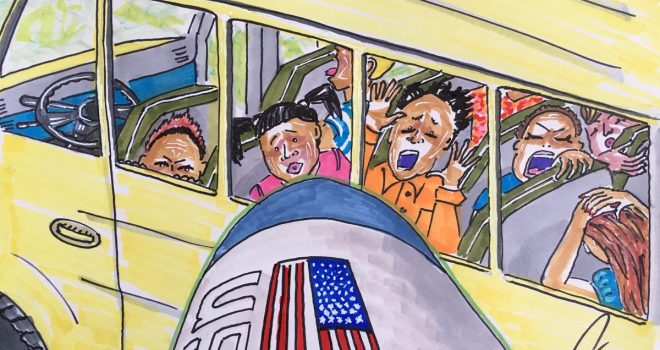 "American actor ""Jim Kerry"" condemned US-Saudi airstrikes on a school bus in Sa'ada"