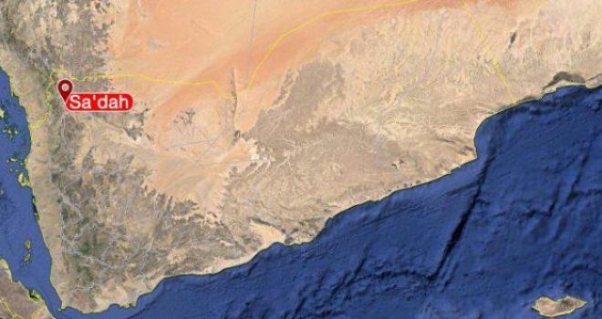 The Injury of a Civilian by Saudi Shelling in Saada