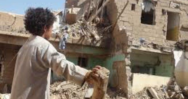 Taiz city is the scene of the coalition's crimes